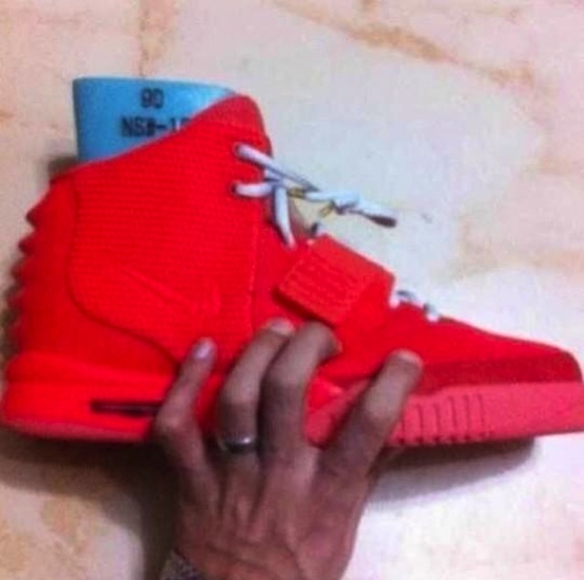 from WE LOVE SNEAKERS · Nike Air Yeezy 2 Red