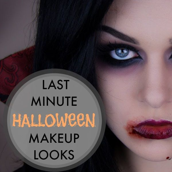 70 best Halloween images on Pinterest - Quick Halloween Makeup Ideas