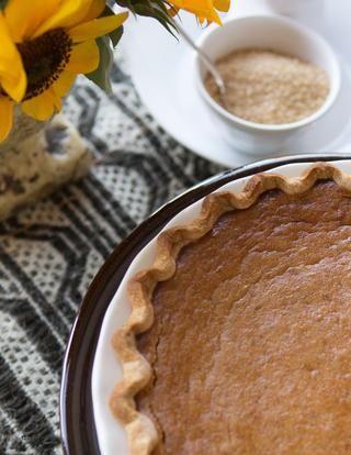 Sweet Potato Pie Recipe   P. Allen Smith