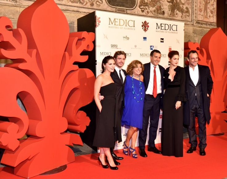 """red carpet x """"I MEDICI - MASTERS OF FLORENCE"""""""