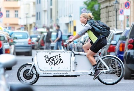 transportfiets.net Cargo cycle electric assist in germany