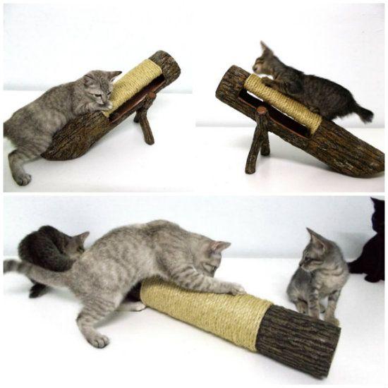 17 mejores ideas sobre arbol rascador para gatos en - Trepadores para gatos ...