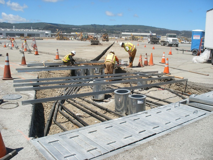 Construction on our Runway Safety Areas Enhancements