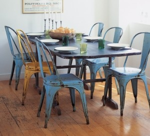 xavier pauchard french industrial dining room furniture. metal cafe chairs the class tolix french chair xavier pauchard industrial dining room furniture