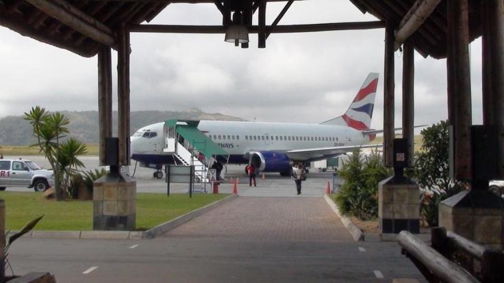 Nelspruit's Kruger International Airport, Nelspruit, Mpumalanga province, South Africa.