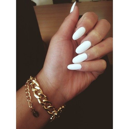 It's just something about white nails