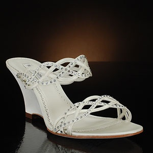31 best Wedge Wedding Shoes images on Pinterest | Wedge wedding ...