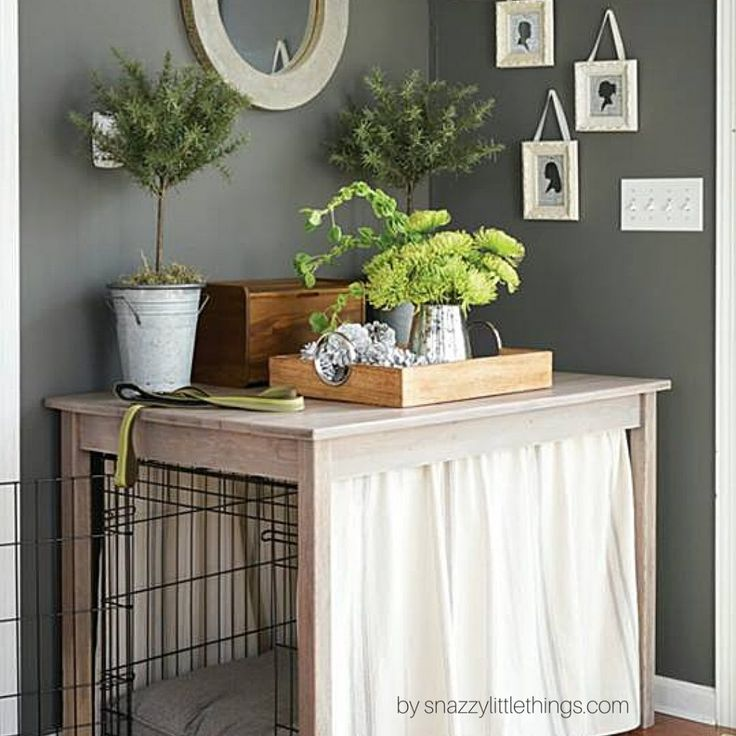 25 Best Ideas About Dog Crate Table On Pinterest