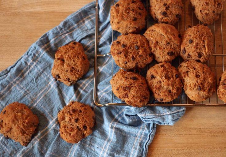 Opskrift på gode glutenfri chokoladeboller og low fodmap chokoladeboller