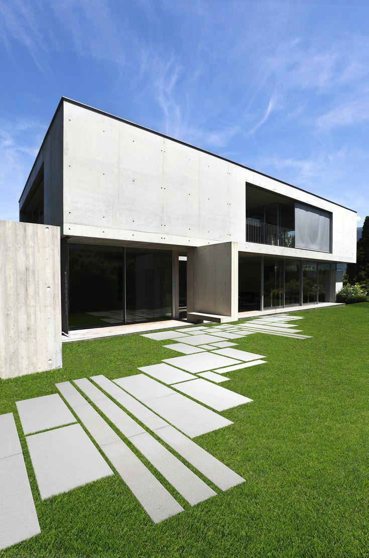 Oltre 25 fantastiche idee su pavimentazione da giardino su - Architettura esterni giardini ...