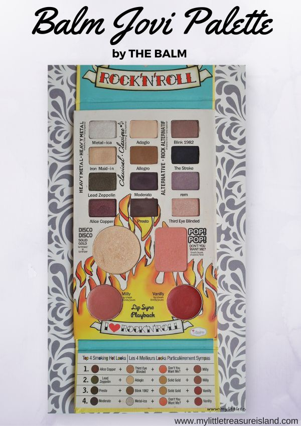 the balm balm jovi palette - all in one makeup travel palette