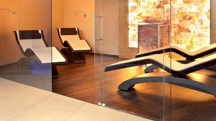 Health retreats heated loungers for your clients relaxation between therapies from Leisurequip.