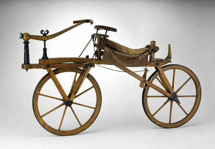 Design is fine. History is mine. — Karl Drais, Draisine, Laufmaschine or Dandy horse,...