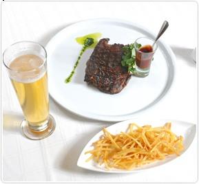 Menú Almuerzo Ejecutivo en Restaurant Zafrán de Radisson Petra La Dehesa.