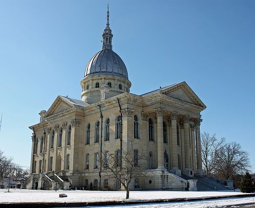 Macoupin County Courthouse, Carlinville, Illinois