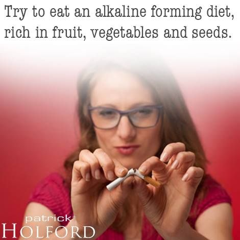 Smoking can be one of the hardest habits to break. Smokers are not only addicted to nicotine, but also to smoking as a habit ie when tired, upset, hungry and so on. Improving your overall nutrition can help with decreasing your craving for cigarettes.