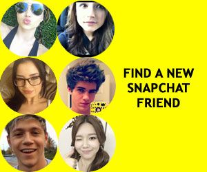List of celebrity Snapchat users