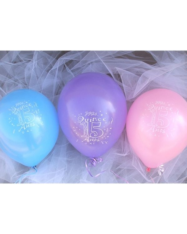 148 best quinceanera sweet 16s images on pinterest for Balloon decoration for quinceanera