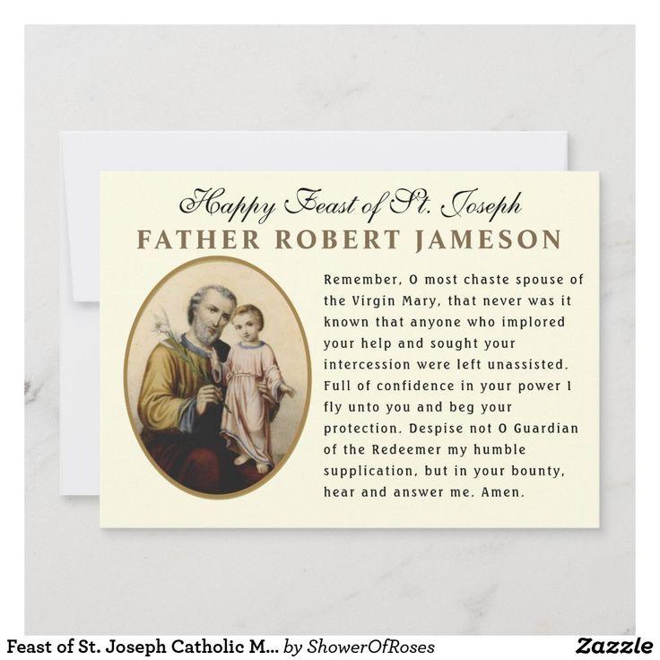 Park Art My WordPress Blog_St Joseph Memorare Prayer Card
