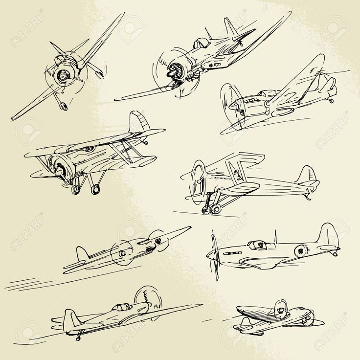 War Plane Stock  Illustration