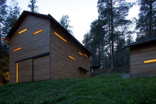 EM2 Architekten - Tamersc lodge, San Vigilio di Marebbe,. Photos © Mads Mogensen, Günther Richard Wett.