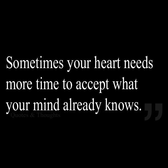 ♥ sometimes your heart needs...