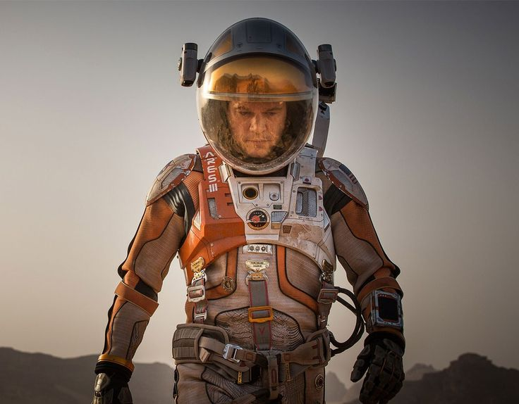 A botanist, Mark is on a Mars mission led by Commander Lewis (Jessica Chastain). He is out doing his thing one day when a storm hits, his suit gets pierced, and Lewis takes off with the rest of the crew, believing Mark to be dead. When an injured Mark comes to, he is impressively placid …