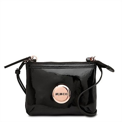 MIMCO SECRET COUCH, BLACK AND ROSE GOLD
