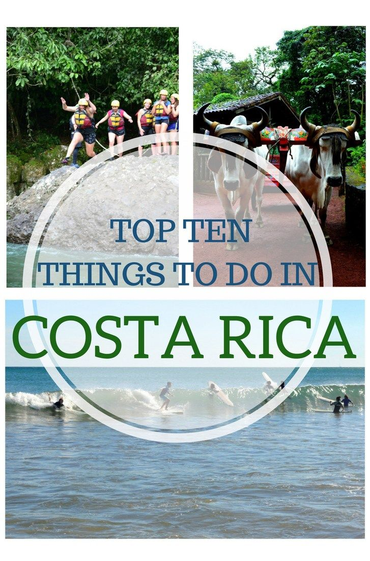 Traveling to Costa Rica? Make sure you do these 10 activities !                                                                                                                                                                                 Más