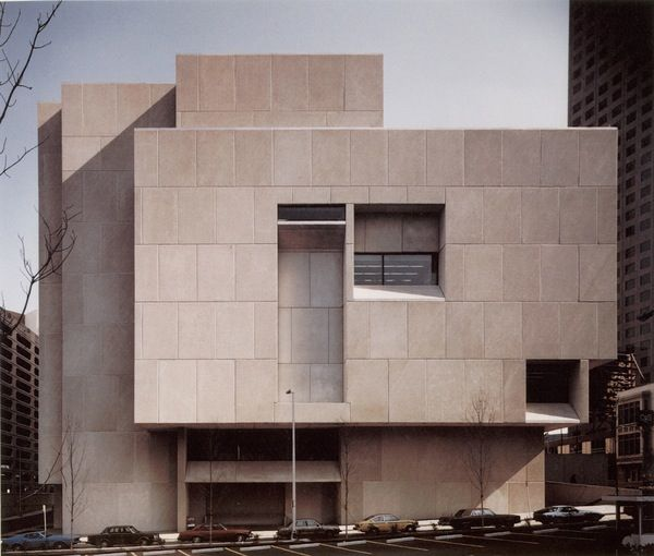 Good The Atlanta Fulton Central Library is the last building designed by Bauhaus architect Marcel Breuer