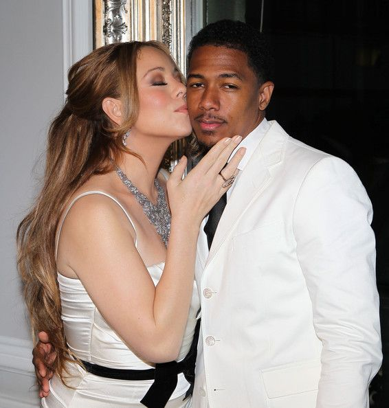 Mariah Carey Photos Photos - Mariah Carey and Nick Cannon renew their wedding vows at the Plaza Athenee Hotel and then check out the Eiffel Tower in Paris, France on April 27, 2012. - Mariah Carey And Nick Cannon Renew Their Wedding Vows