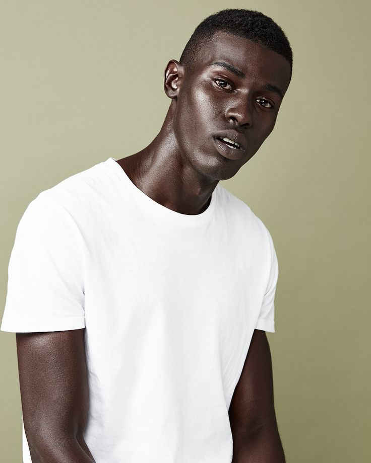 A simple white tee is an all-weather essential.