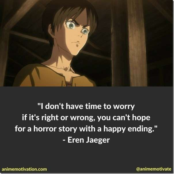 eren titan quotes 2+ Of The Most Meaningful Attack On Titan Quotes  Anime quotes