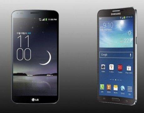 Samsung dan LG Bersaing Memproduksi Massal Baterai Lengkung