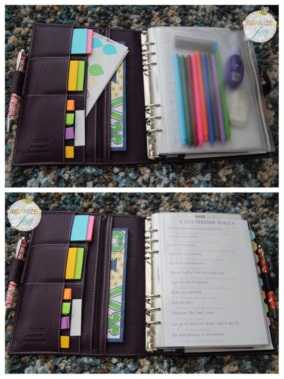from organizedbyjen - a5 finchley in imperial purple. I have this filofax in black in the same size. I love it. :)