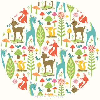 Woodland Tails by Sheri McCulley Studio