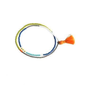 Elastic Tassel Wrap Bracelet