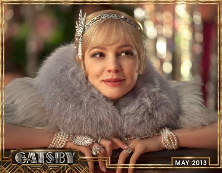 Go Gatsby Girl -Good movie--loved her! Captured the essence of Daisy!