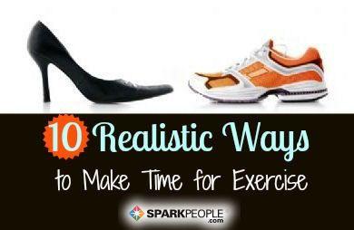 Trovare il tempo per l'esercizio