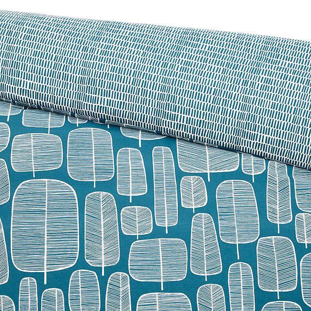 BuyMissPrint Little Trees Cotton Duvet Cover and Pillowcase Set, Single Online at johnlewis.com