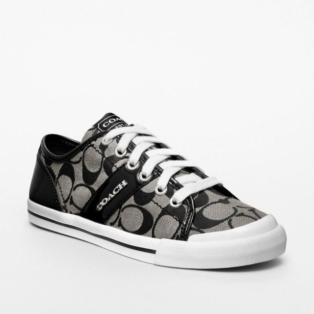 Coach :: Fillmore Sneakers. I have a slipon Coach in brown. Love them.