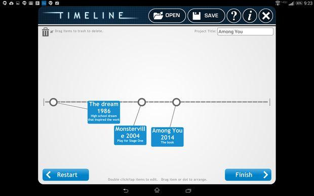 how to add image to tiki toki timeline