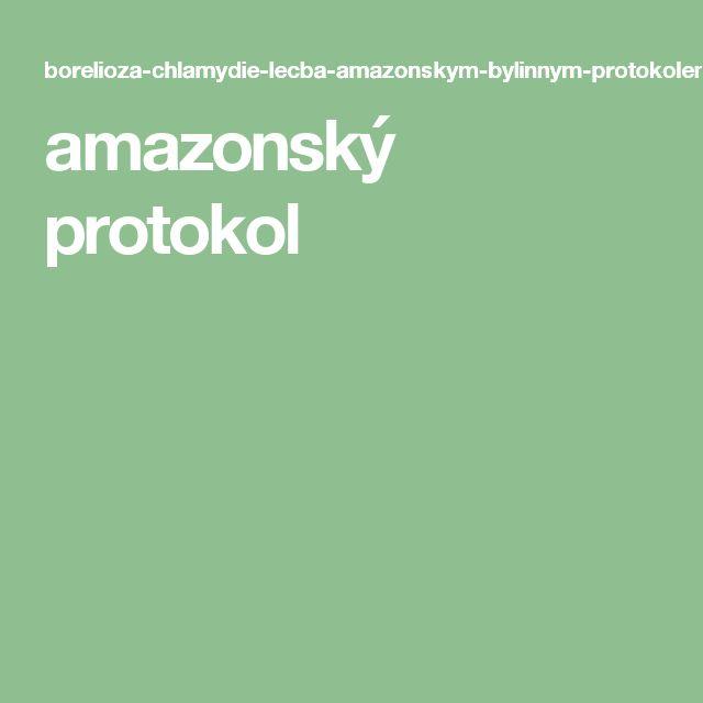 amazonský protokol
