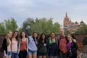 This year, seven Hun School advanced studio art honors students travelled to San Miguel de Allende, Mexico during spring break on a journey of exploration through writing, drawing, and independent art projects.