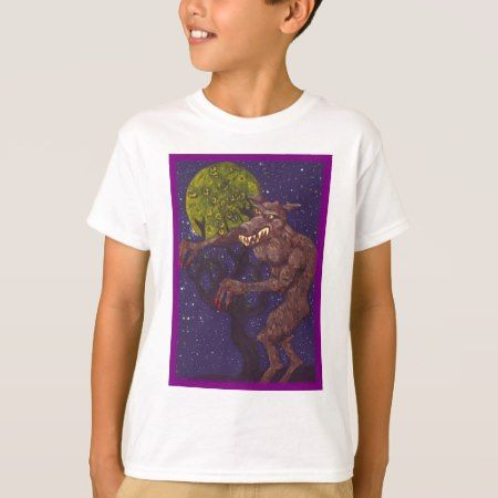 Slobbering Werewolf T-Shirt - tap, personalize, buy right now!