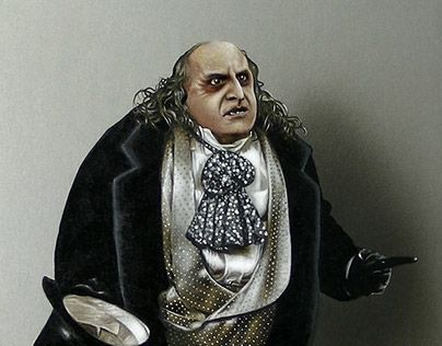 "Check out new work on my @Behance portfolio: ""Portrait of Danny DeVito as Penguin from Batman Returns"" http://be.net/gallery/47350437/Portrait-of-Danny-DeVito-as-Penguin-from-Batman-Returns"