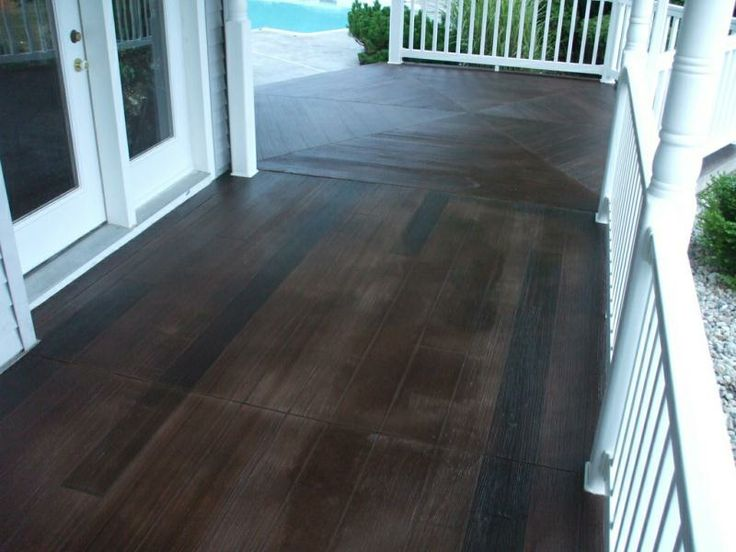 56 best images about floors on pinterest for Hardwood floor concrete stamp