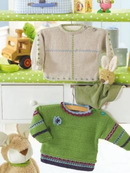 Free Baby's Sweater pattern