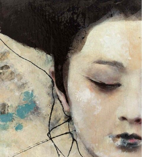 Artemis Dreaming, Dried Tear Lita Cabellut Represented at the...
