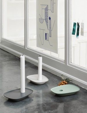 Float offers a new perspective on the classic candlestick by elegantly combining a light and floaty expression with a strong and modern character. The candleholder's tray area can be used for placing favourite objects, providing the chance to create a personalised setting. Ideal as a gift, Float is the brainchild of leading Norwegian designers Anderssen & Voll.